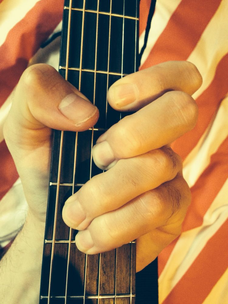 Baseball Grip Barre Chord