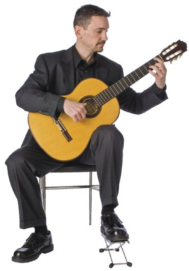 Classical Guitar Position