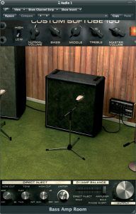 Softube bass amp room - product image